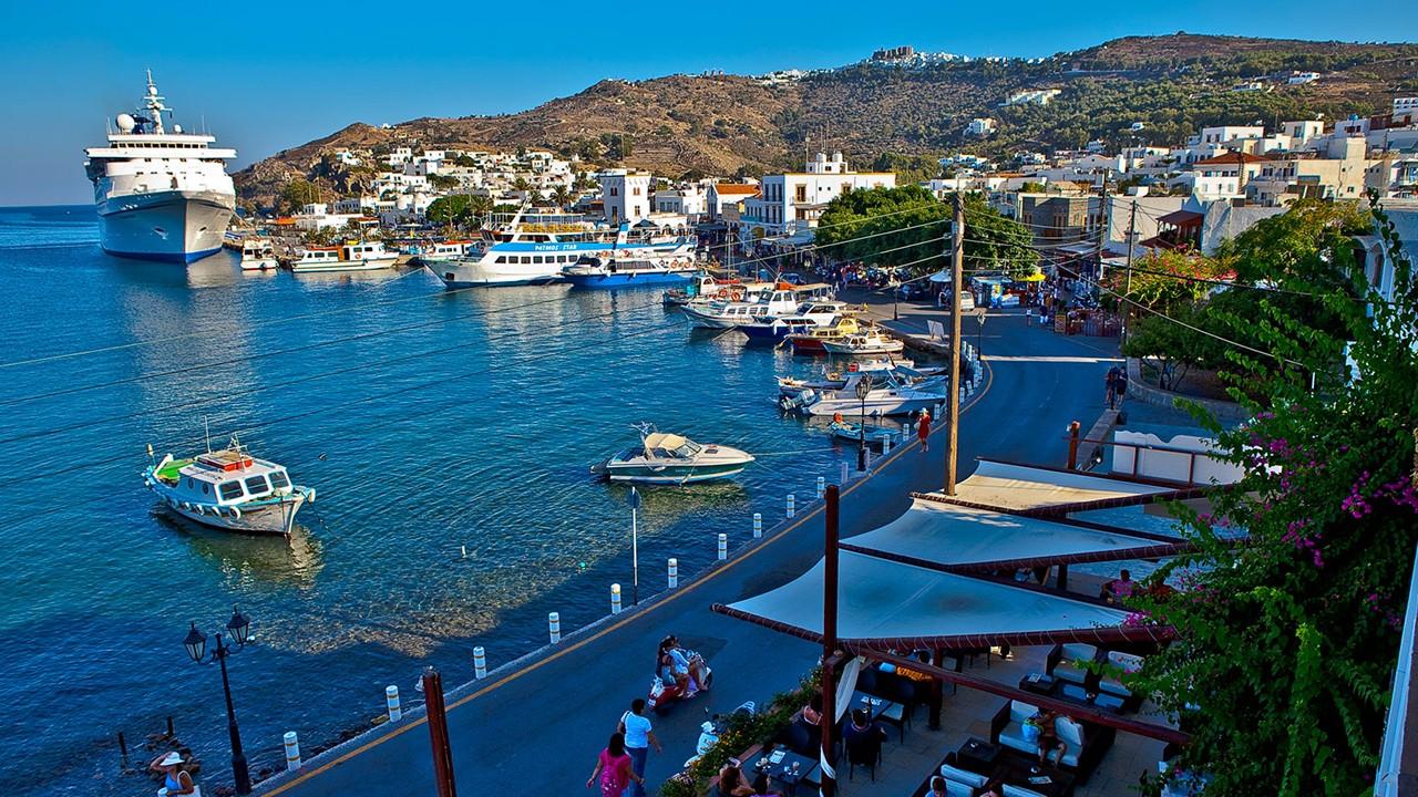 Bodrum - Griekse eilanden (Noord-Dodekanesos)