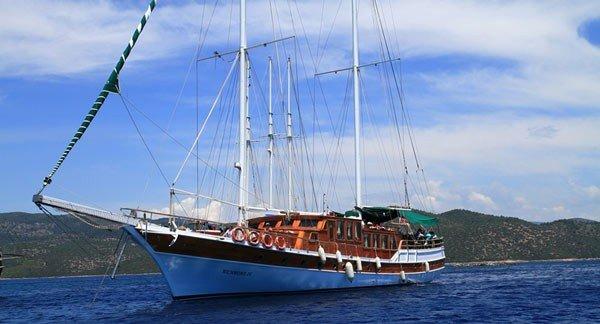 Bodrum Griekse Eilanden Jacht Richmond Iv