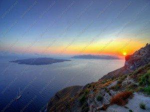 Eiland Santorini